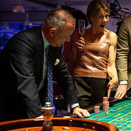 Blackjack at Capital Casino Events.  Casino Hire London-Essex- Kent-Surrey-Sussex-Hertfordshire-Bedfordshire-Hampshire-Buckinghamshire