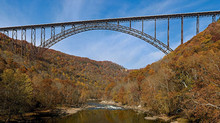 Base Jump from the New River Gorge Bridge