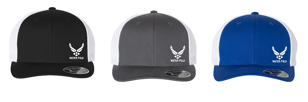 Air Force Water Polo Flexfit Mesh-Back Cap
