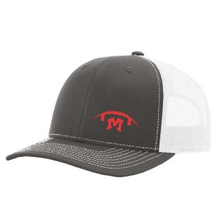 Snapback Trucker Cap -- Embroidered Football M