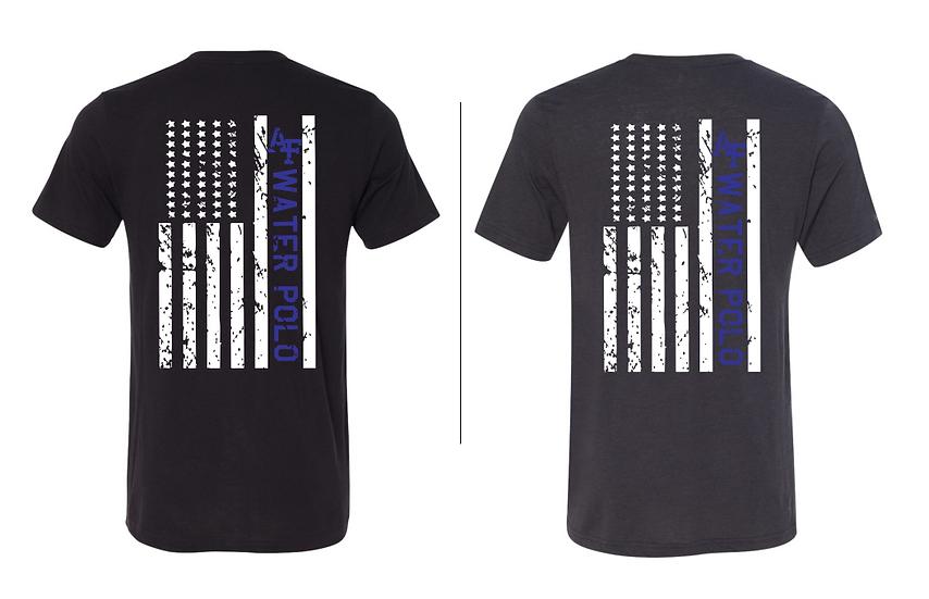 Air Force Water Polo Flag T-Shirt