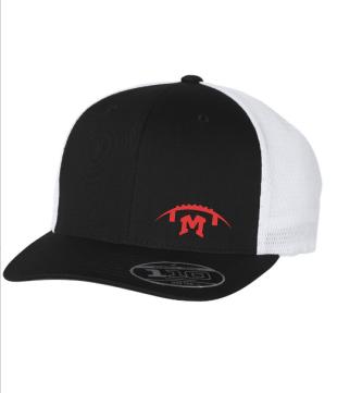 Flexfit - 110® Mesh-Back Cap - Embroidered Football M