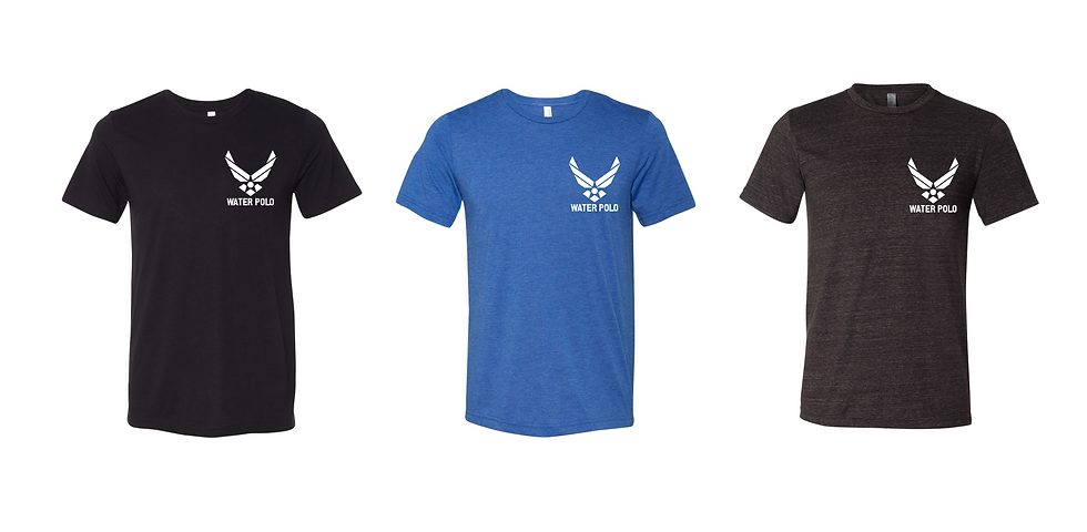 Air Force Water Polo Roster T-Shirt