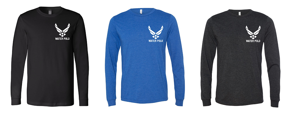 Air Force Water Polo Roster Long Sleeve