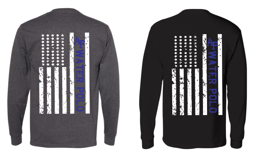 Air Force Water Polo Flag Pocket Long Sleeve