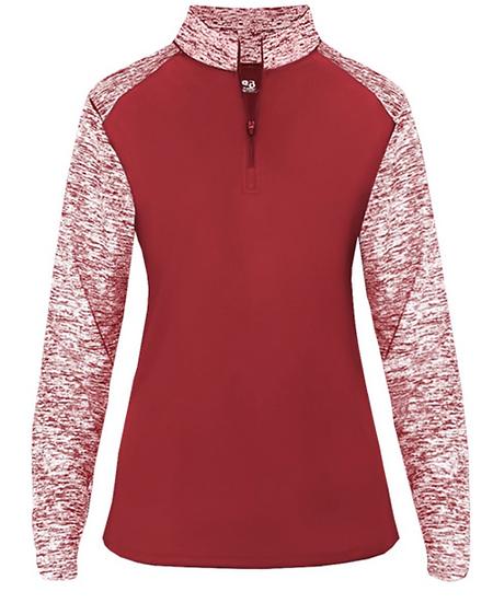 Women's Sport Blend Quarter-Zip Pullover