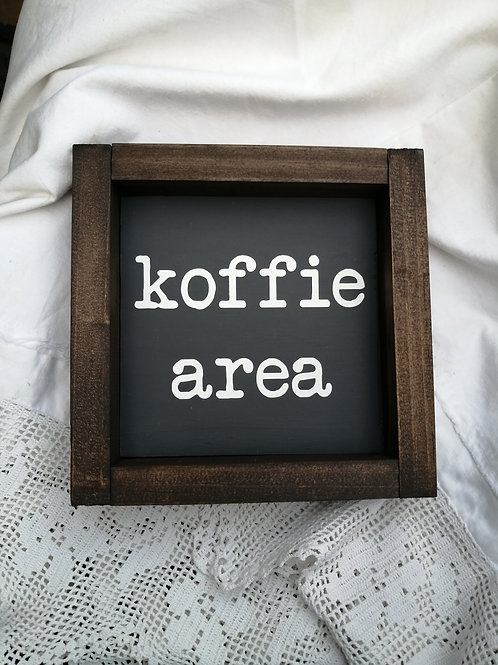 Koffie area