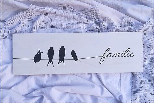 Swaeltjie familie