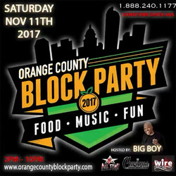 SATURDAY NOV 11th👈👈👌🍸🍺🍹🍷🍻🍺🏧 🏠🏡ORANGE COUNTY BLOCK PARTY🏡🏠 Tickets Available _ These lo