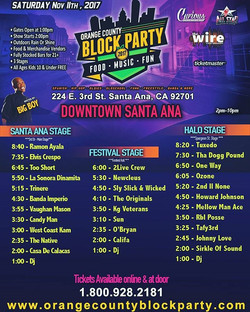 OC BLOCK PARTY WIRE