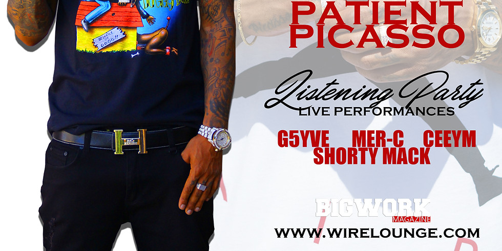 PATIENT PICASSO Listening Party