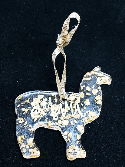 Mama llama ornament