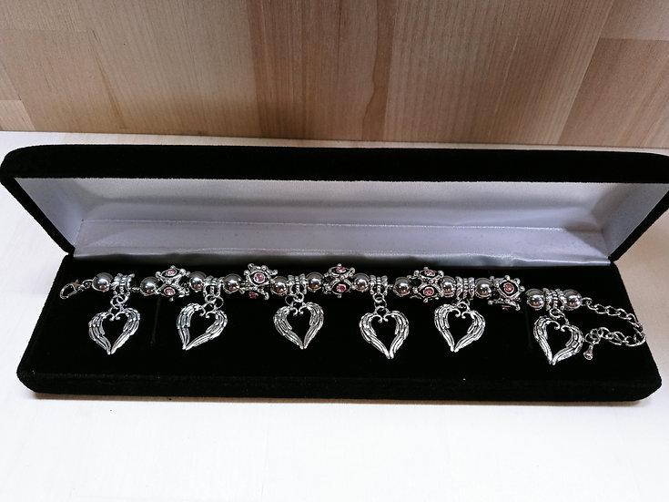 Wings of love bracelet