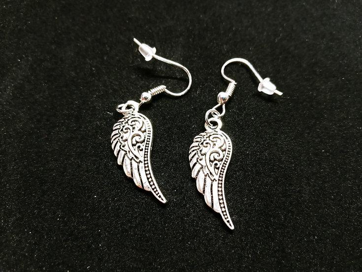 Small ornate earrings