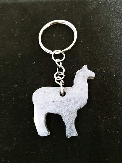 Llama key chain