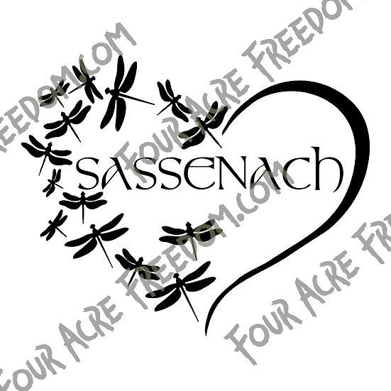 Sassenach Decal