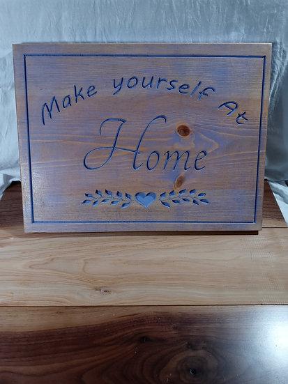 Home plaque