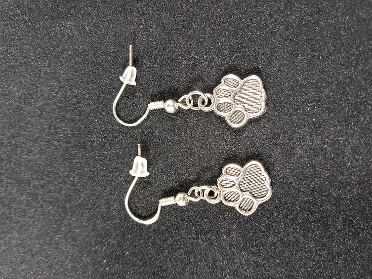 Little paws earrings