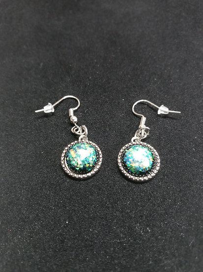 Fancy stone earrings