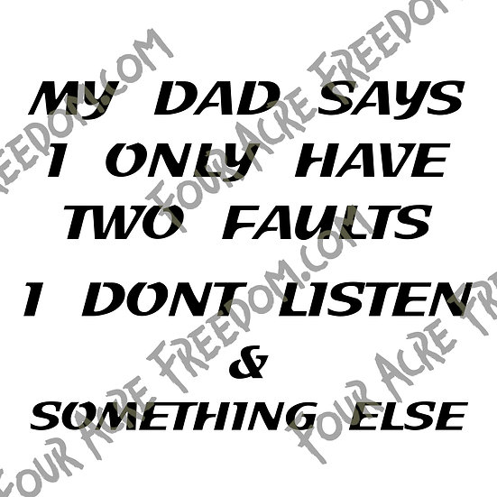 Two Faults