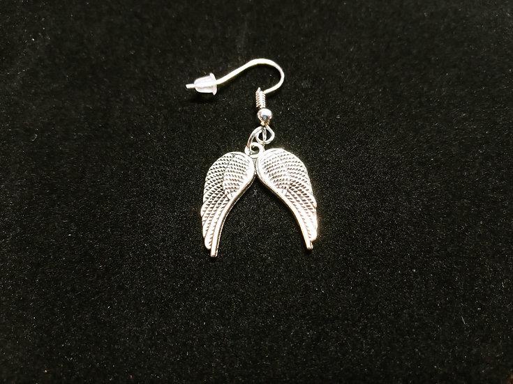 Wing set earrings