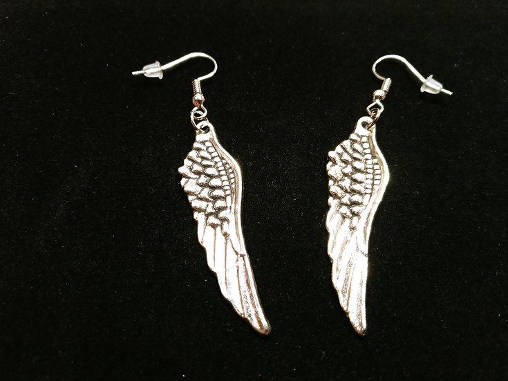 Fallen wing earrings