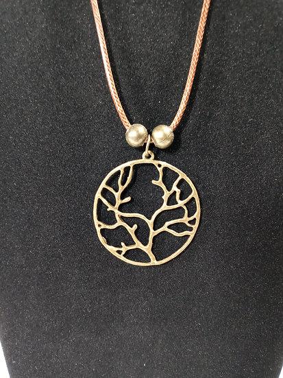 Circle tree pendant