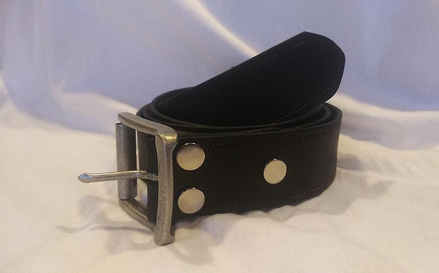 "Handmade Genuine Leather Belt W:1.5""x L:54"""