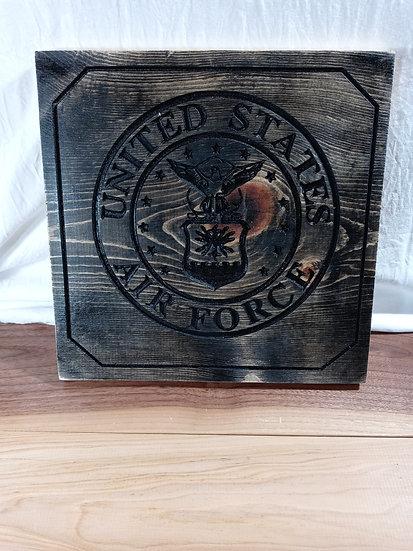 Air Force plaque
