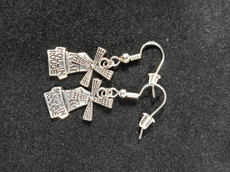 Moulin Rouge earrings