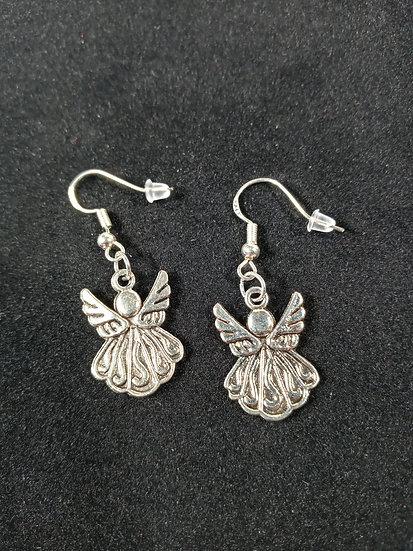 Fancy angel earrings
