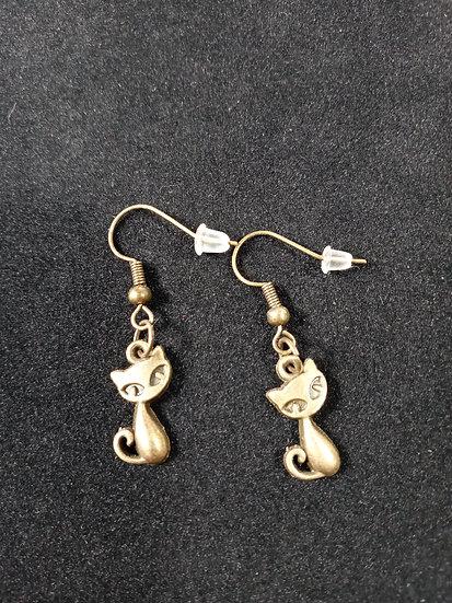 Little cat earrings
