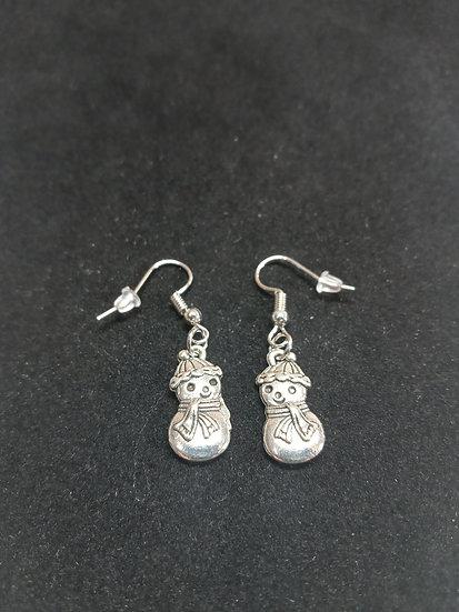 Little snowmen earrings
