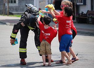 Fireman Rob Triathlon in Full Firefighter Gear Motivational