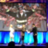 Fireman Rob Award at Endurance Live Awards in Los Angeles