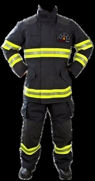 Fireman Rob Firefighter Gear Motivational