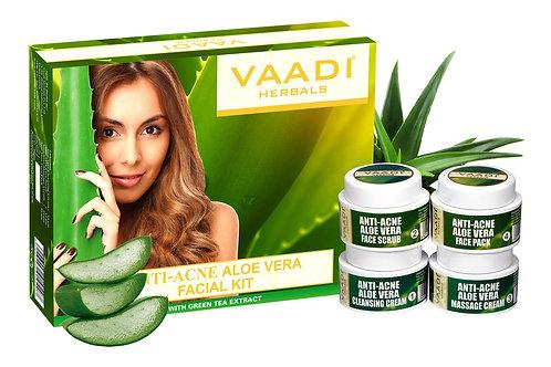 Aloe Vera Facial Kit With Cedarwood Oil, Grapeseed & Turmeric