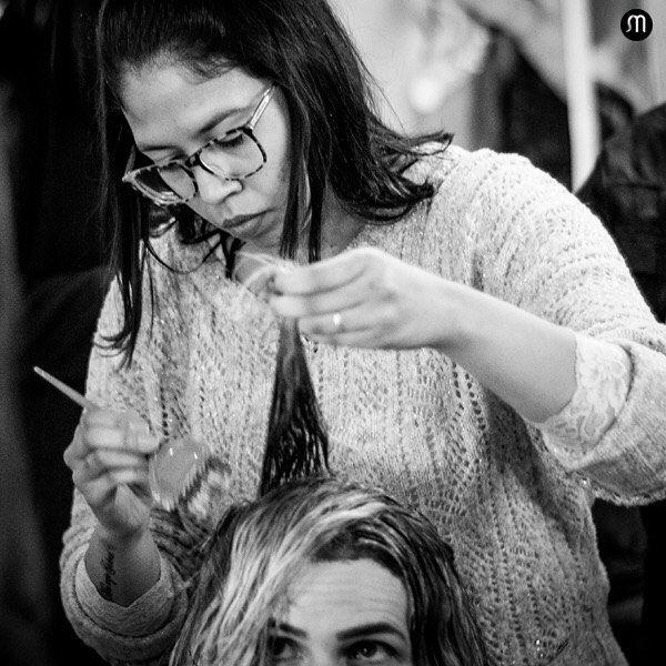 Ser cabeleireiro é um dom que vai das mã