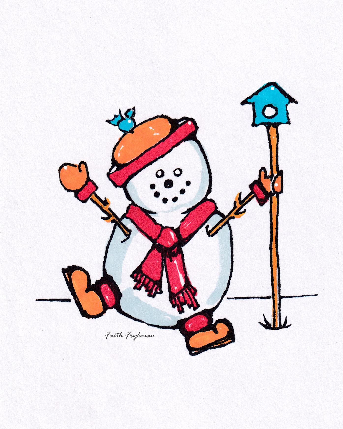 snowman-1-birdhouse
