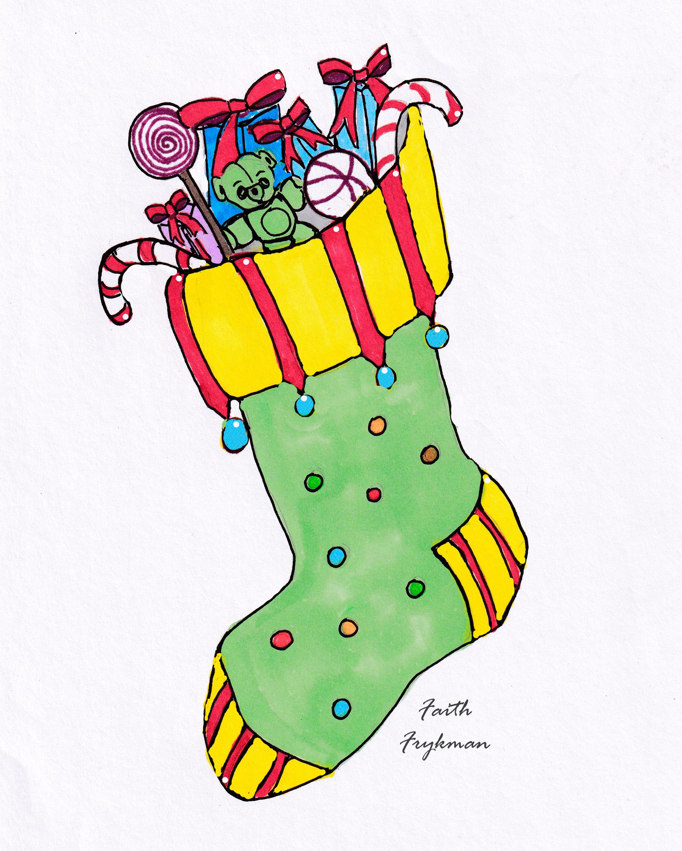 stocking-1-green