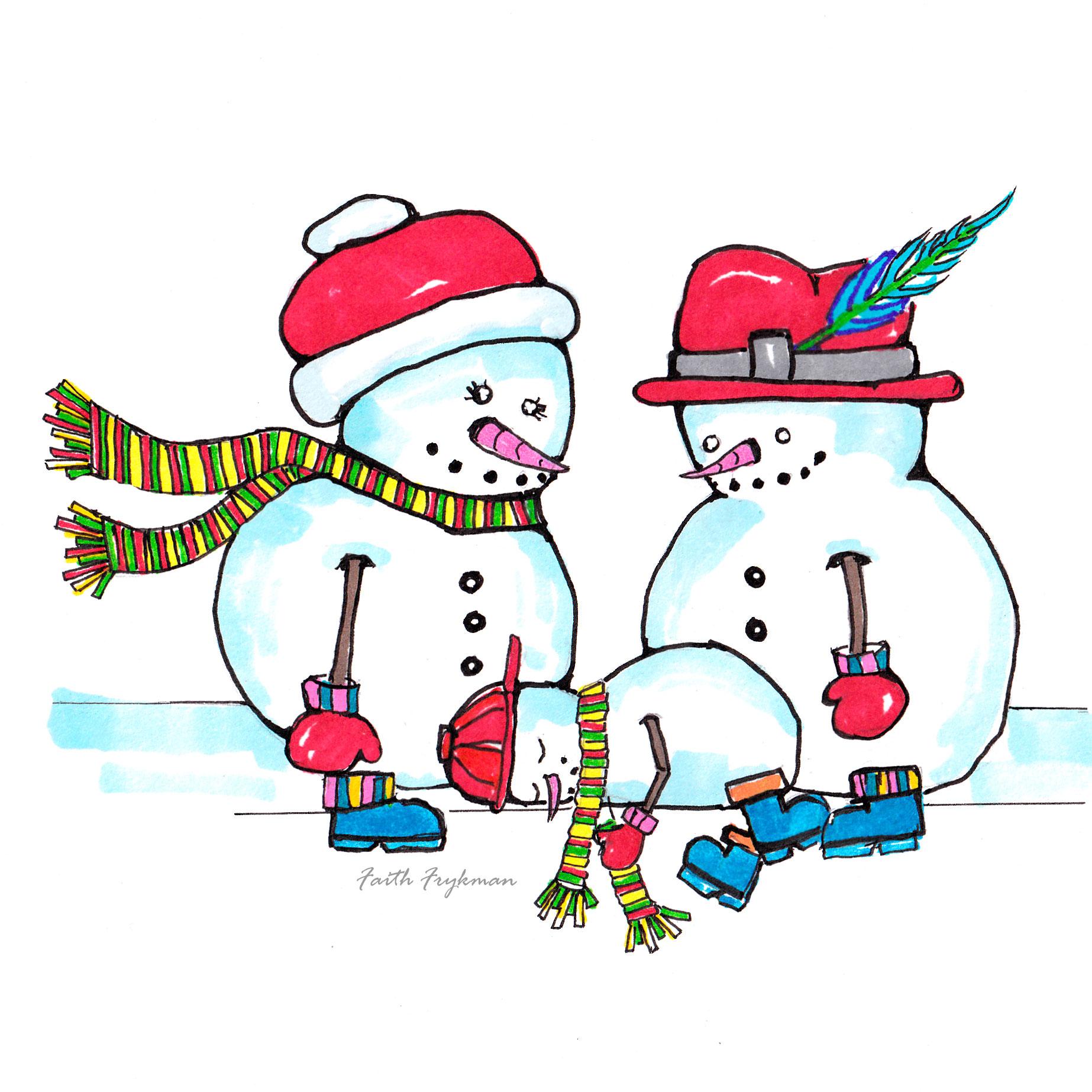 snowman 3 naptime