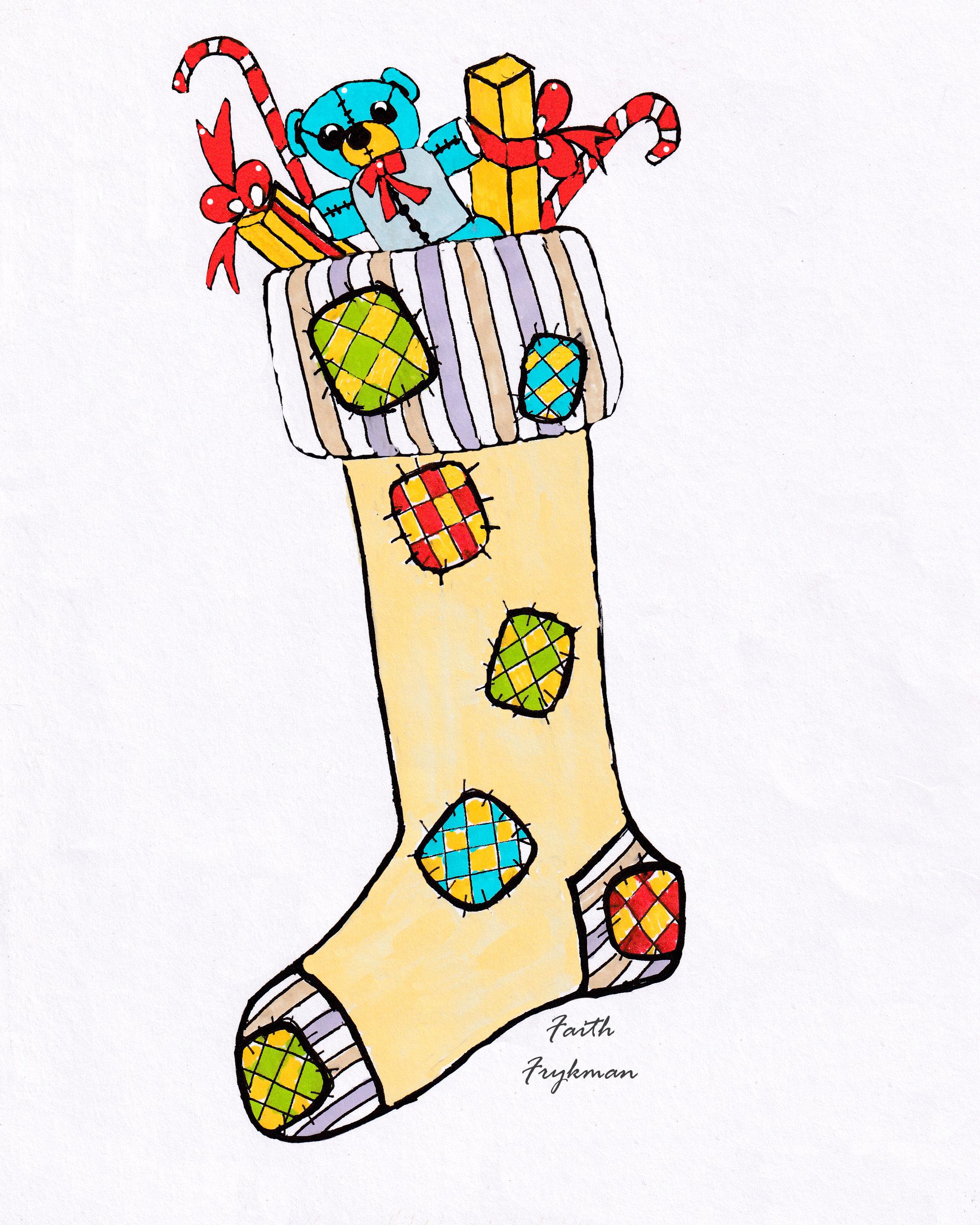 stocking-1-tan