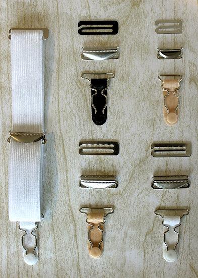 Suspender Clip Sets/Pair