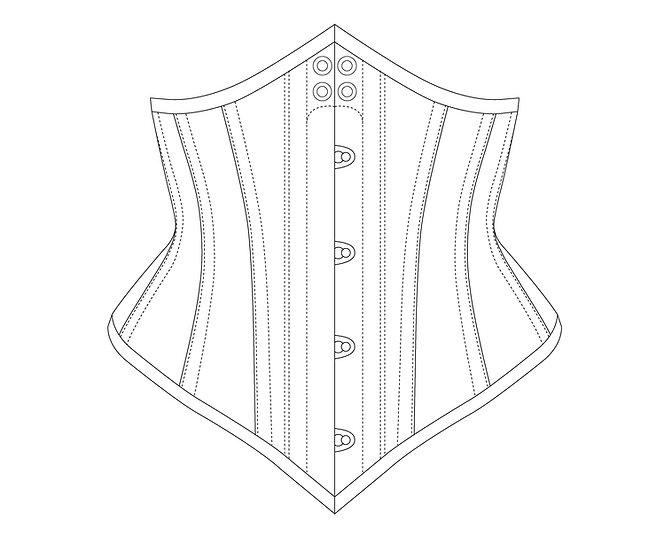 Waist Cincher - PDF Pattern