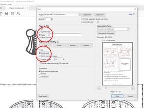 Preparing your PDF corset pattern