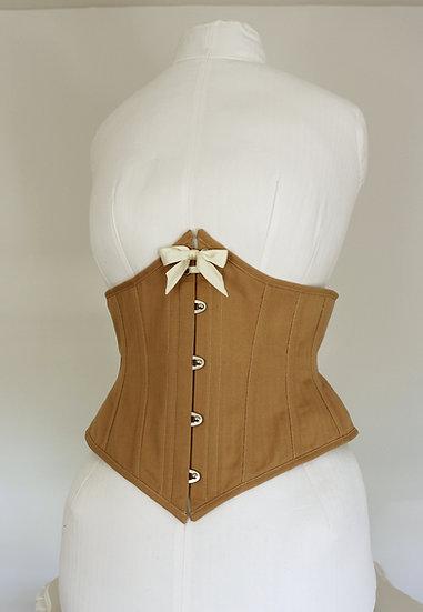 Nude waist cincher
