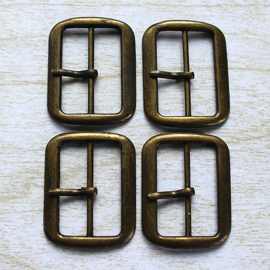 Buckle - Antique Brass 30mm