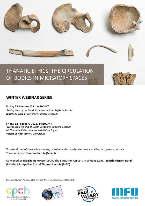 Thanatic Ethics Winter Webinar Series
