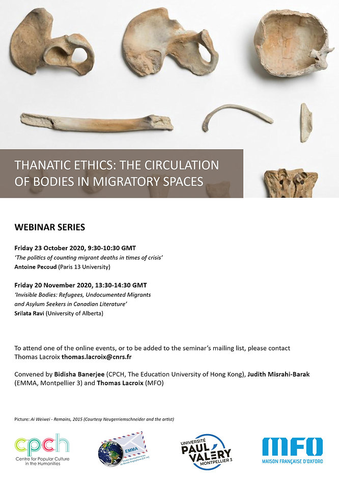 Thanatic Ethics Webinar Series 1