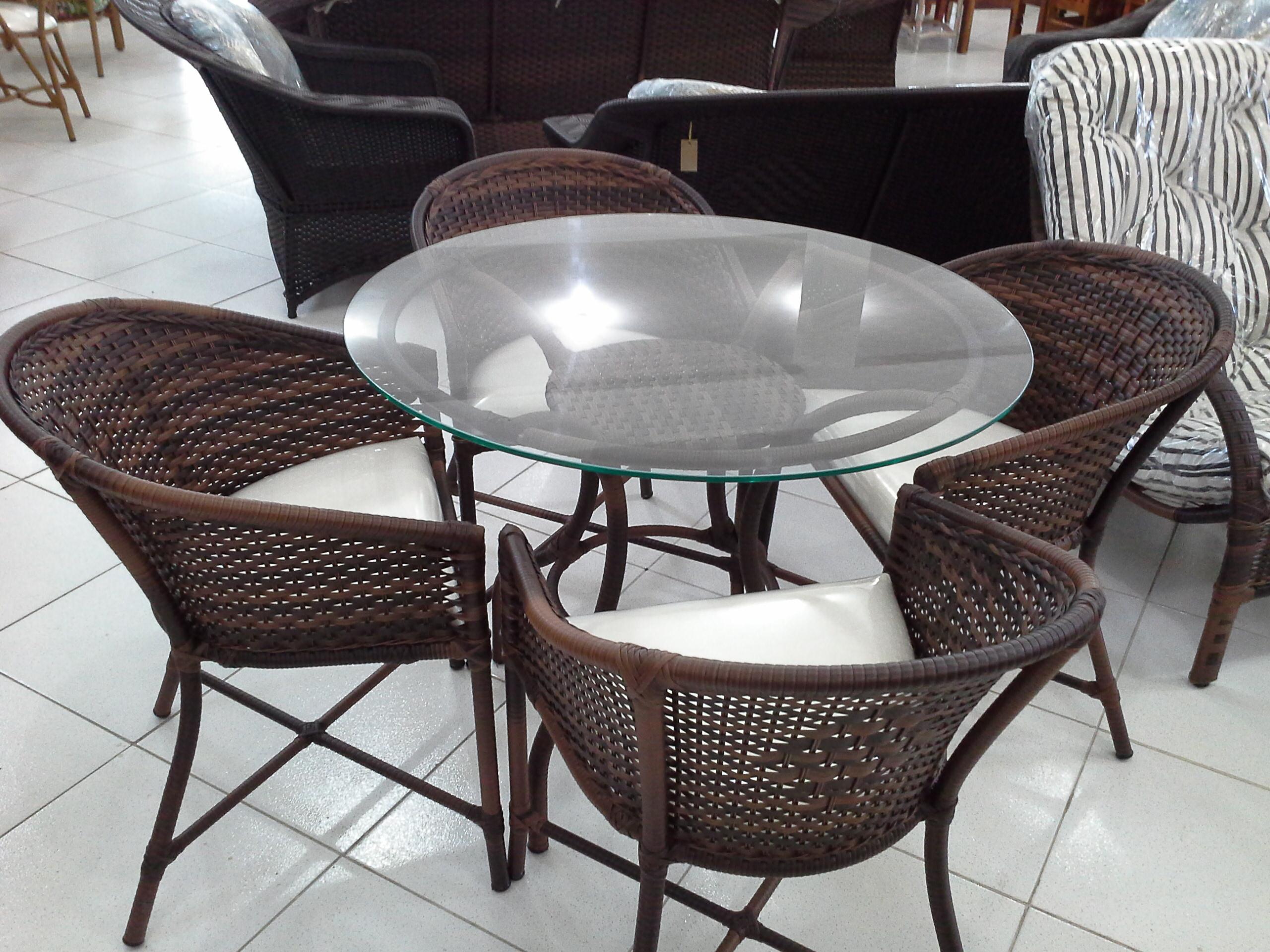 Mesa Tela P e Cadeira Perola